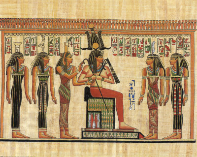 Egypt stylebyladyg for Mural egipcio